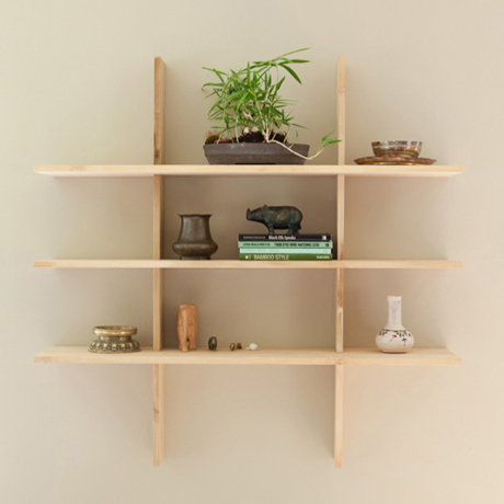Grid Locking Shelves